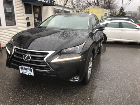 2017 Lexus NX 200t for sale at Snowfire Auto in Waterbury VT
