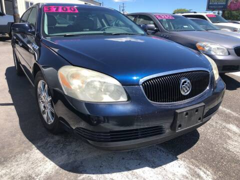 2008 Buick Lucerne for sale at BELOW BOOK AUTO SALES in Idaho Falls ID