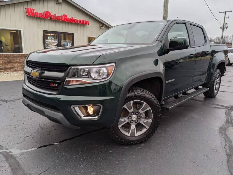 2015 Chevrolet Colorado for sale at West Point Auto Sales in Mattawan MI