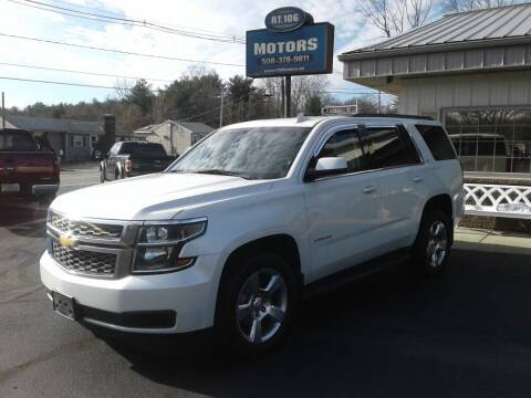 2016 Chevrolet Tahoe for sale at Route 106 Motors in East Bridgewater MA