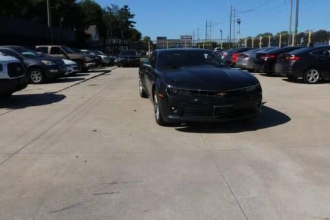 2014 Chevrolet Camaro for sale at F & M AUTO SALES in Detroit MI