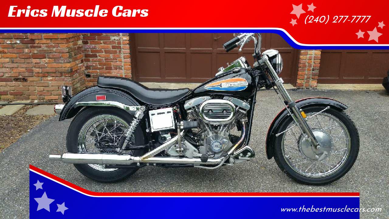 1972 Harley-Davidson FX