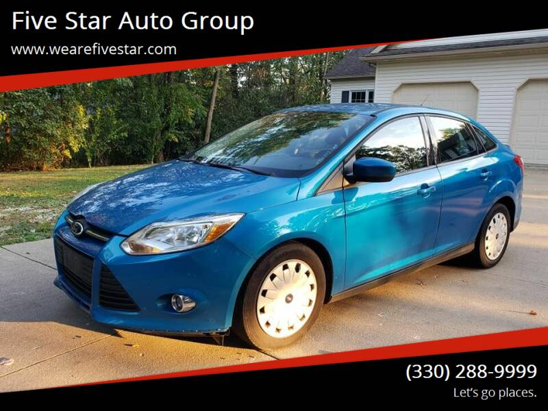 2012 Ford Focus for sale at Five Star Auto Group in North Canton OH