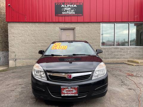 2008 Saturn Aura for sale at Alpha Motors in Chicago IL