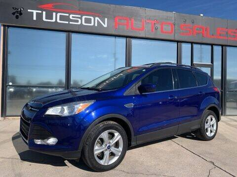 2013 Ford Escape for sale at Tucson Auto Sales in Tucson AZ