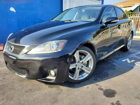 2011 Lexus IS 250 for sale at GENERATION 1 MOTORSPORTS #1 in Los Angeles CA