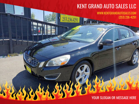 2013 Volvo S60 for sale at KENT GRAND AUTO SALES LLC in Kent WA