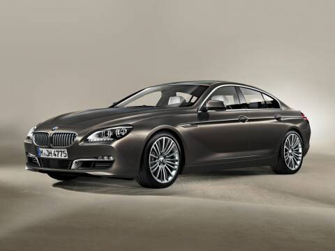 2013 BMW 6 Series for sale at CHEVROLET OF SMITHTOWN in Saint James NY
