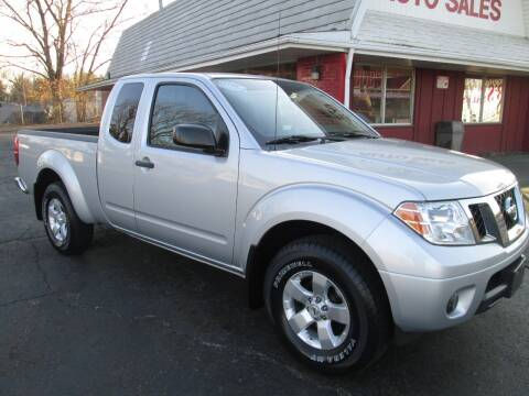 2012 Nissan Frontier for sale at Bob's Auto Sales in Canton OH