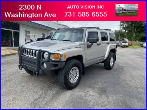 2006 HUMMER H3 for sale at Auto Vision Inc. in Brownsville TN