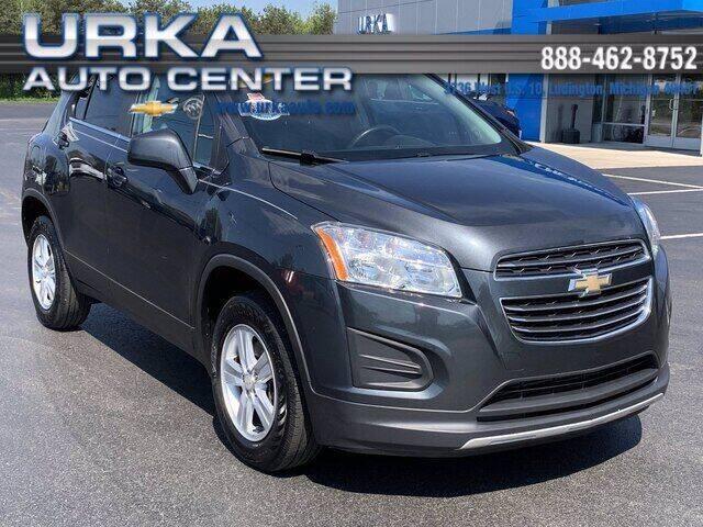 2016 Chevrolet Trax for sale at Urka Auto Center in Ludington MI