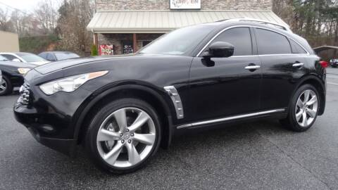2009 Infiniti FX50 for sale at Driven Pre-Owned in Lenoir NC