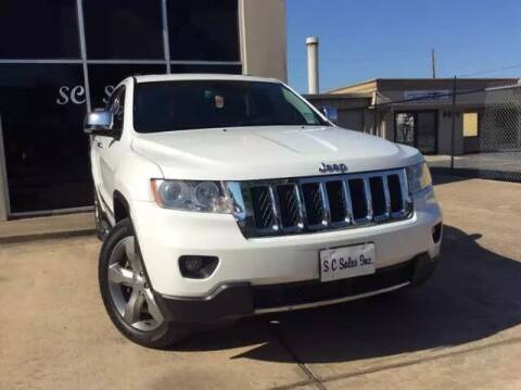 2013 Jeep Grand Cherokee for sale at SC SALES INC in Houston TX