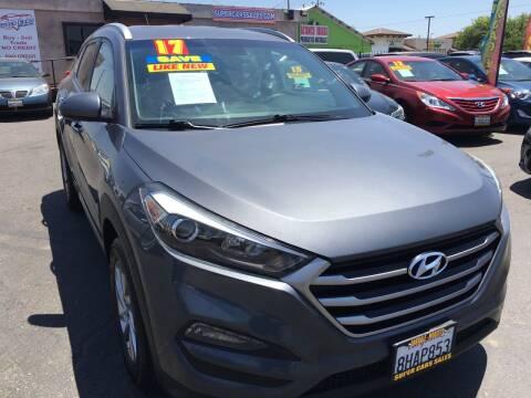 2017 Hyundai Tucson for sale at Super Cars Sales Inc #1 - Super Auto Sales Inc #2 in Modesto CA