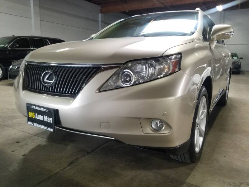 2012 Lexus RX 350 for sale at 916 Auto Mart ONLY $399 DOWN!!!* in Sacramento CA