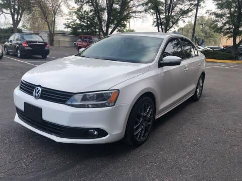 2012 Volkswagen Jetta for sale at Modern Auto in Denver CO