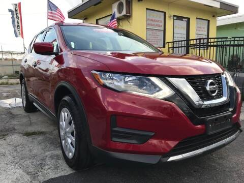 2017 Nissan Rogue for sale at MIAMI AUTO LIQUIDATORS in Miami FL