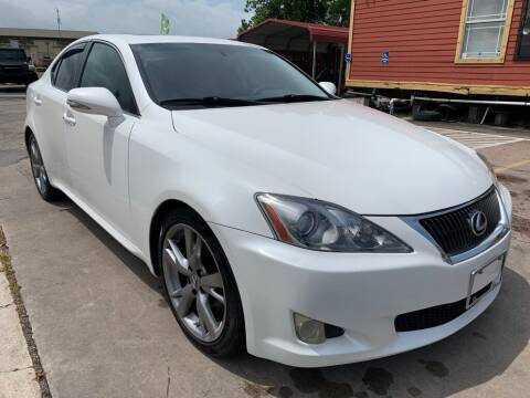 2010 Lexus IS 250 for sale at JAVY AUTO SALES in Houston TX