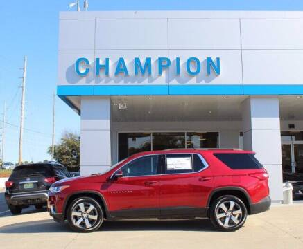2020 Chevrolet Traverse for sale at Champion Chevrolet in Athens AL