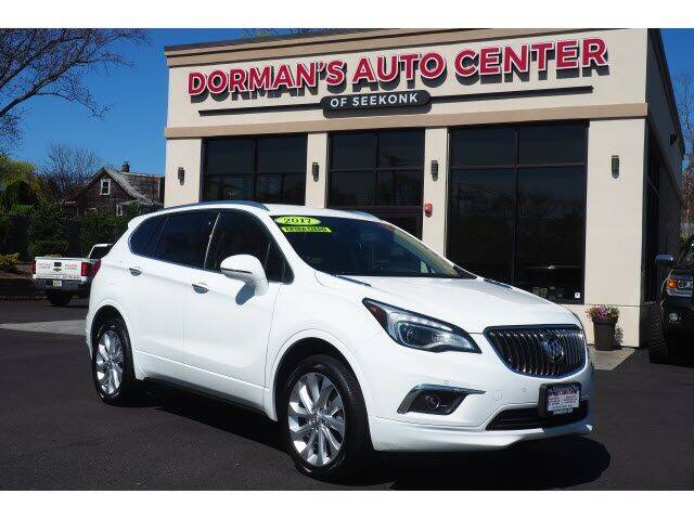 2017 Buick Envision for sale at DORMANS AUTO CENTER OF SEEKONK in Seekonk MA
