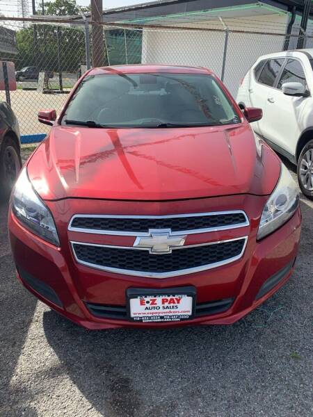 2013 Chevrolet Malibu for sale at E-Z Pay Used Cars in McAlester OK
