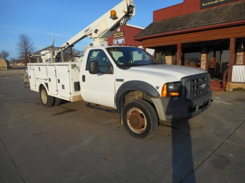 2007 Ford F-450 Super Duty for sale at Boyett Sales & Service in Holton KS