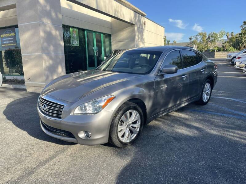2011 Infiniti M37 for sale at AutoHaus in Colton CA