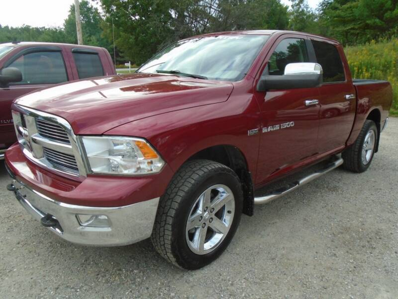 2012 RAM Ram Pickup 1500 for sale at Wimett Trading Company in Leicester VT