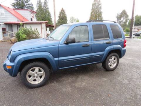 2004 Jeep Liberty for sale at Triple C Auto Brokers in Washougal WA
