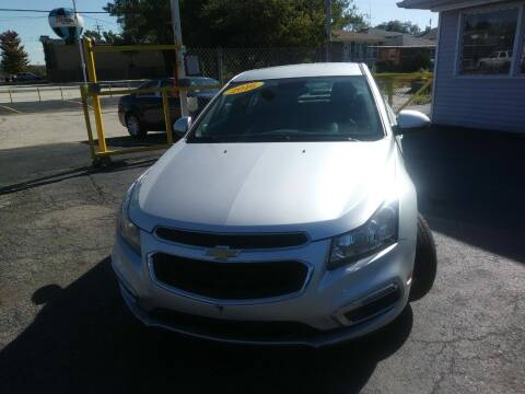 2016 Chevrolet Cruze Limited for sale at Sibley Car Credit in Dolton IL