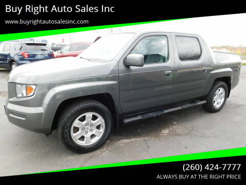2008 Honda Ridgeline for sale at Buy Right Auto Sales Inc in Fort Wayne IN