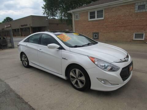 2011 Hyundai Sonata Hybrid for sale at RON'S AUTO SALES INC in Cicero IL