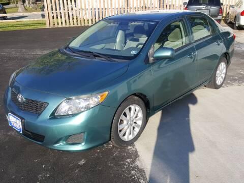 2009 Toyota Corolla for sale at Premier Auto Sales Inc. in Newport News VA