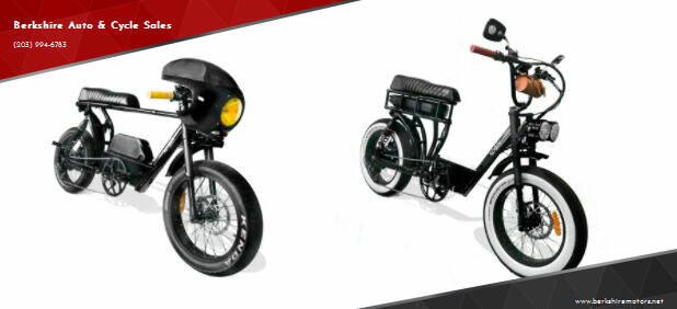 2021 Berkshire Custom E-Moped for sale at Berkshire Auto & Cycle Sales in Sandy Hook CT