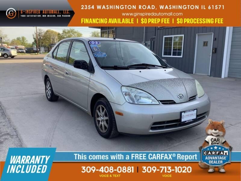 2003 Toyota Prius for sale in Washington, IL