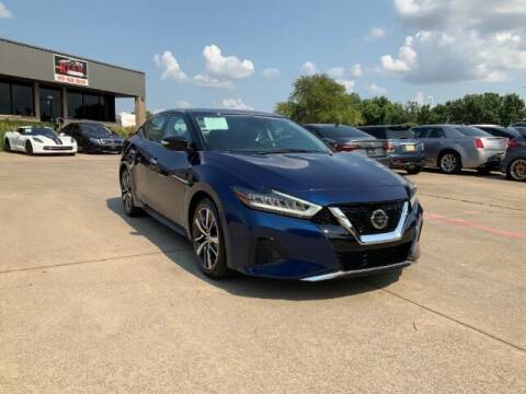2020 Nissan Maxima for sale at KIAN MOTORS INC in Plano TX