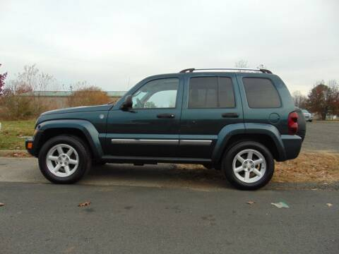 2006 Jeep Liberty for sale at CR Garland Auto Sales in Fredericksburg VA