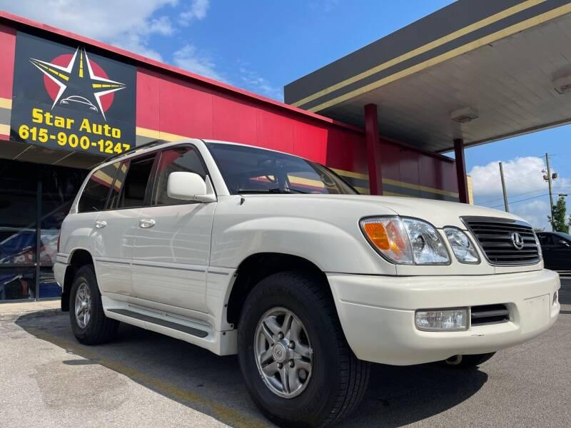 2002 Lexus LX 470 for sale at Star Auto Inc. in Murfreesboro TN
