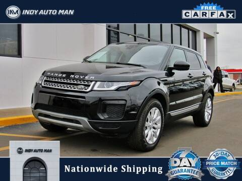 2018 Land Rover Range Rover Evoque for sale at INDY AUTO MAN in Indianapolis IN