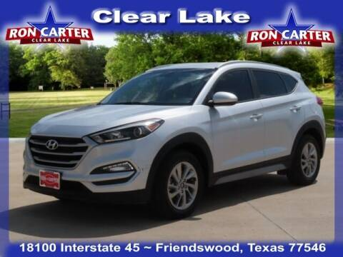 2017 Hyundai Tucson for sale at Ron Carter  Clear Lake Used Cars in Houston TX