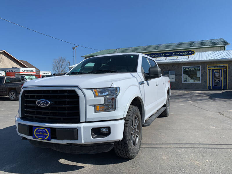 2015 Ford F-150 for sale at SUPERIOR AUTO SOLUTIONS in Spearfish SD