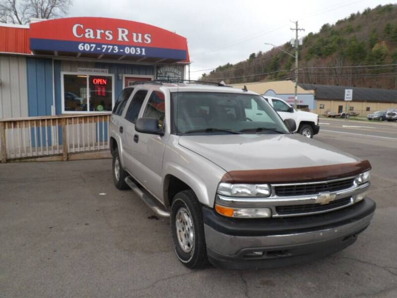 2006 Chevrolet Tahoe for sale at Cars R Us in Binghamton NY