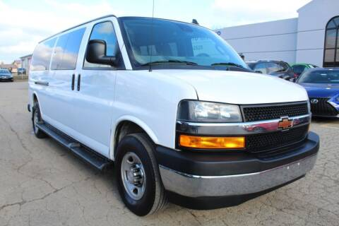 2019 Chevrolet Express Passenger for sale at SHAFER AUTO GROUP in Columbus OH