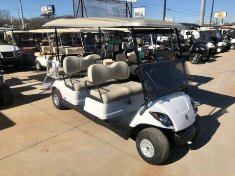 2014 Yamaha Drive 6 Passenger Gas EFI for sale at METRO GOLF CARS INC in Fort Worth TX