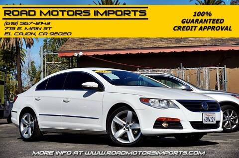 2012 Volkswagen CC for sale at Road Motors Imports in El Cajon CA