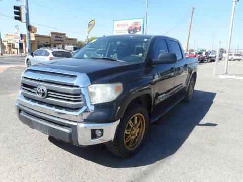 2014 Toyota Tundra for sale at AUGE'S SALES AND SERVICE in Belen NM