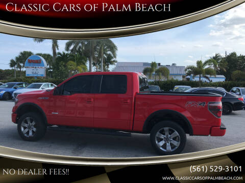 2012 Ford F-150 for sale at Classic Cars of Palm Beach in Jupiter FL