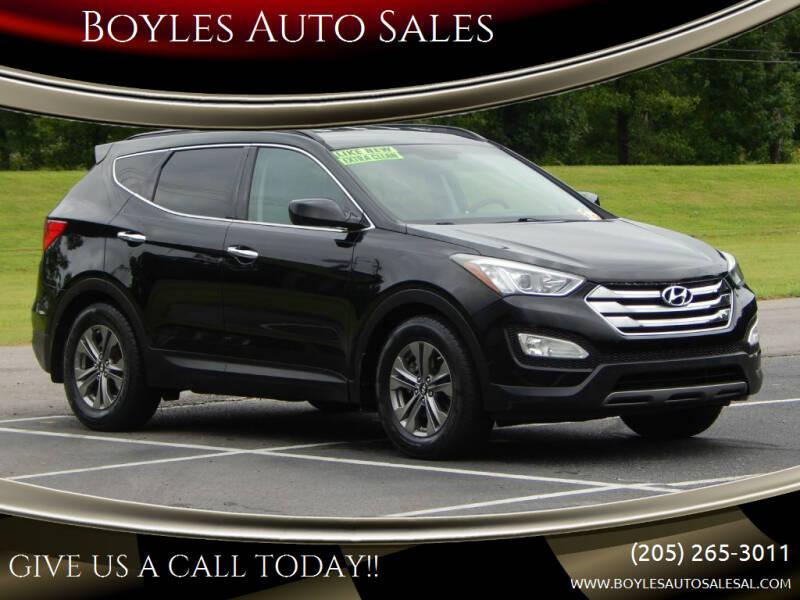 2015 Hyundai Santa Fe Sport for sale at Boyles Auto Sales in Jasper AL
