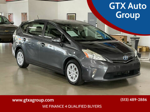 2012 Toyota Prius v for sale at GTX Auto Group in West Chester OH