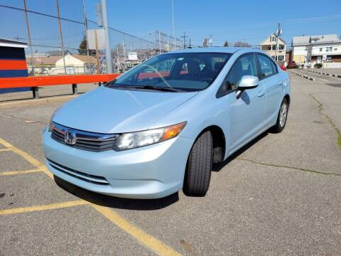 2012 Honda Civic for sale at Millennium Auto Group in Lodi NJ